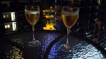 Wieczór na balkonie Apartament M.102 Batumi